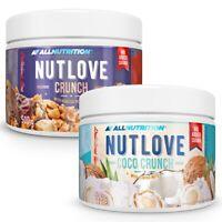AllNutrition Nutlove Crunch 2 x 500g Dose Weiße Schokolade Erdnussbutter 1kg
