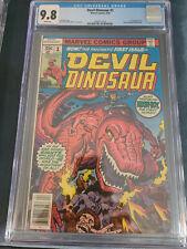 Devil Dinosaur #1 CGC 9.8