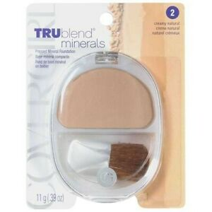 Cover Girl TRUblend Pressed Mineral Foundation #2 CREAMY NATURAL