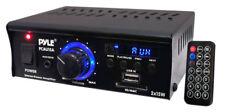 Pyle pcau 15 A 2 X 15 W Amplificador De Potencia Estéreo Mini USB/SD AUX REPRODUCTOR/remoto