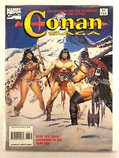 Conan Saga # 83 Gran Tamaño Cómic Revistas Marvel 1994