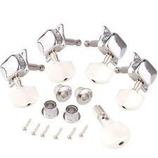 5PCS String Banjo Machine Semiclosed Head Tuning Tuner Peg + Bushing