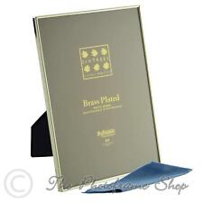 A4 Certificate Brass Plated Photo Frame Sixtrees Hartford 1-400-A4
