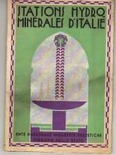 R170 Stations hydrominerales d'Italy. Sprache: italienisch. 48 Seiten mit s/w Fo