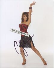 CHERYL BURKE of (DANCING WITH THE STARS) IN PERSON SIGNED 8X10 COLOR PHOTO 3
