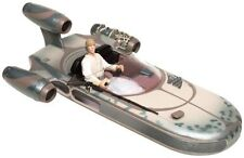 Star Wars: Luke Skywalker and Landspeeder with mobile hovering effect