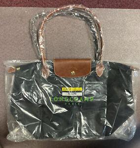 LONGCHAMP PARIS LE PLIAGE Short Handle Medium Tote Bag