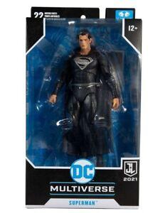 McFarlane Toys - DC Multiverse Justice League - Superman (Black Suit)