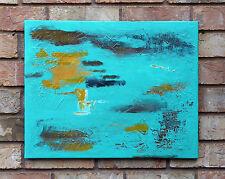 """Insightful"" - Original Textured Abstract Painting * GlowinGlass * 16"" x 20"""
