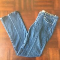 PAIGE - Canyon Flare Jeans Med Rise Flare Stretch Jeans Size 31