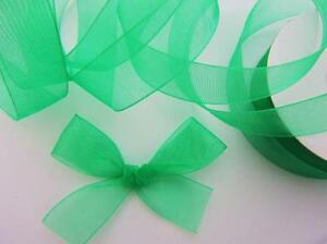 "25 yards Spool Sheer Organza 7/8"" Ribbon 23mm/Craft/wedding OR78-Roll 12 Colors"