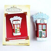 Christmas Countdown House Ornament Hallmark Keepsake 2005