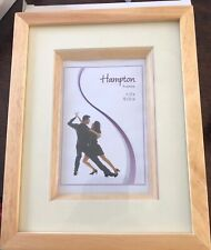 Hampton 4x6 Seville Natural Photo Frame. Brand New And Boxed.