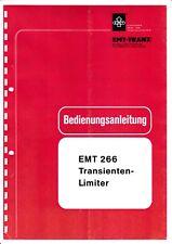 Service Manual User Manual For Emt 266