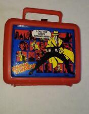 Vintage 1990 Dick Tracy Aladdin Plastic Lunchbox & Thermos Set Disney Movie