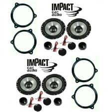 IMPACT EF 65S Kit 8 casse per SMART For Four 2014> con ADAT SUP> ANT E POST