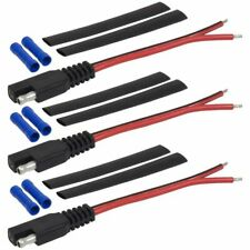 3PCS Power cable with terminal heat shrinkable,SAE4-3PK Power Plug SAE Pow L5G2