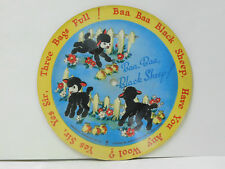 Unknown (picture disc) 78 Baa, Baa, Black Sheep Be Your Mothers   Voco VG Canada