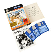 Blue Max - Aces Of The Great War For Amiga 500 / 1000. Big Box Complete. 1990
