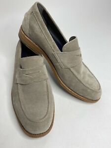 Men's Cole Haan Grand OS 360 C32146 Taupe Leather Loafers •Size 9M *EUC