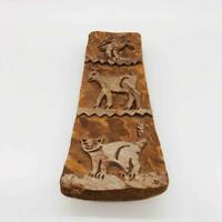 Hand-Carved Wood Folk Art Primitve Animals Wall Hanging Incense Tray Mexico?