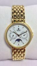 Orologio uomo Basmich GOLD PLATED - fasi luna - 1.079.0.0.05 - nuovo