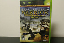 Full Spectrum Warrior: Ten Hammers  (Xbox, 2006) *Tested/Complete/360 Compatible