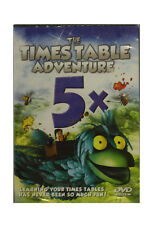 Times Table Adventure DVD - 5 Times Tables - Learn your Times Tables a Fun Way!