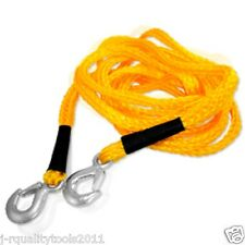 20' TOW ROPE SUPER STRONG, LIGHT WEIGHT- RATED: 6500LBS