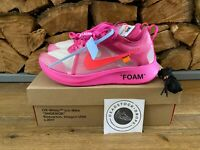 Off White Nike Zoom Fly SP Pink UK 8 EU 42.5 100% Authentic BNWT lot