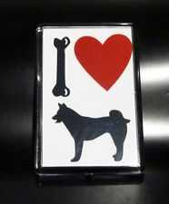 Fridge Magnet - I Love My Dog Fridge Magnet - Husky