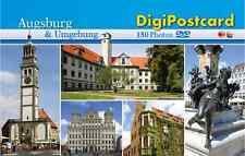 """DigiPostcard """"Augsburg und Umgebung"""" - Ansichtskarte mit DVD als Stadtführer"""