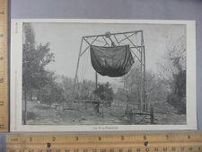Rare Antique Orig VTG 1897 Titus Fumigator Machine Farm Illustration Art Print