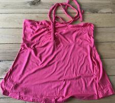 Ladies Next Pink Halterneck Top Size 16