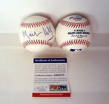 Mark Kelly Nasa Astronaut Signed Autograph Mlb Baseball Psa/Dna Coa