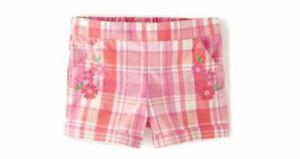 NWT Gymboree Fairy Blossom Plaid Shorts Size 4T