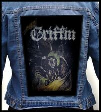 GRIFFIN - Flight of the Griffin  --- Giant Backpatch Back Patch