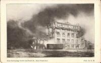San Francisco, CALIFORNIA - Wellman, Peck & Co. - Earthquake & Fire - 1906