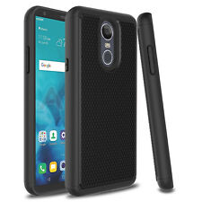 For LG Stylo 4 Plus/Q Stylo Shockproof Phone Case Hbyrid Rugged Armor Slim Cover