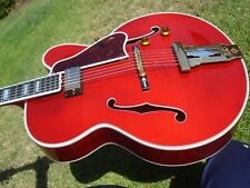 Gibson Wes Montgomery L-5 CES Custom Shop Crimson Masterbuilt Archtop Wine Red