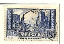 YT n° 261 de 1929 PORT DE LA ROCHELLE oblitéré
