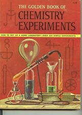The Golden Book of Chemistry Experiments plus The Boy Chemist on CD