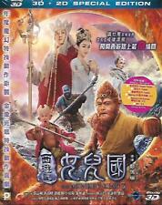 The Monkey King 3 2D + 3D Blu Ray Aaron Kwok Zanilia Zhao Lin Chi Ling NEW R1