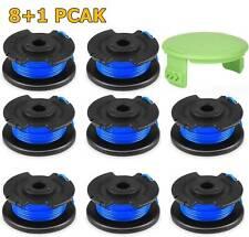 8+1Pack Fit Ryobi One Plus String Trimmer Line AC14RL3A Spool 18/24/40V Cordless