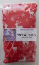 Microwave Lavender Wheat Bags Body Heat Wrap Valentine Day Red Reindeer