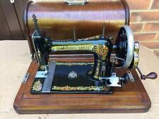 Antique Bradbury Soeze Vibrating shuttle sewing Machine