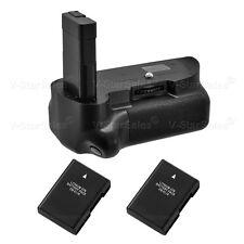prise Batterie pour Nikon D5500 + 2x EN-EL14 batteries Li-ion