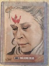 Topps The Walking Dead Season 6 Carol Sketch By Tim Shay