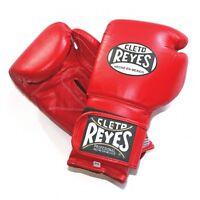 Gratis Cleto Reyes Boxhandschuhe Traditionell Geschnürt Trainingshandschuhe Rot