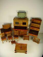 Antikes Puppenküchen Möbel um 1920/30